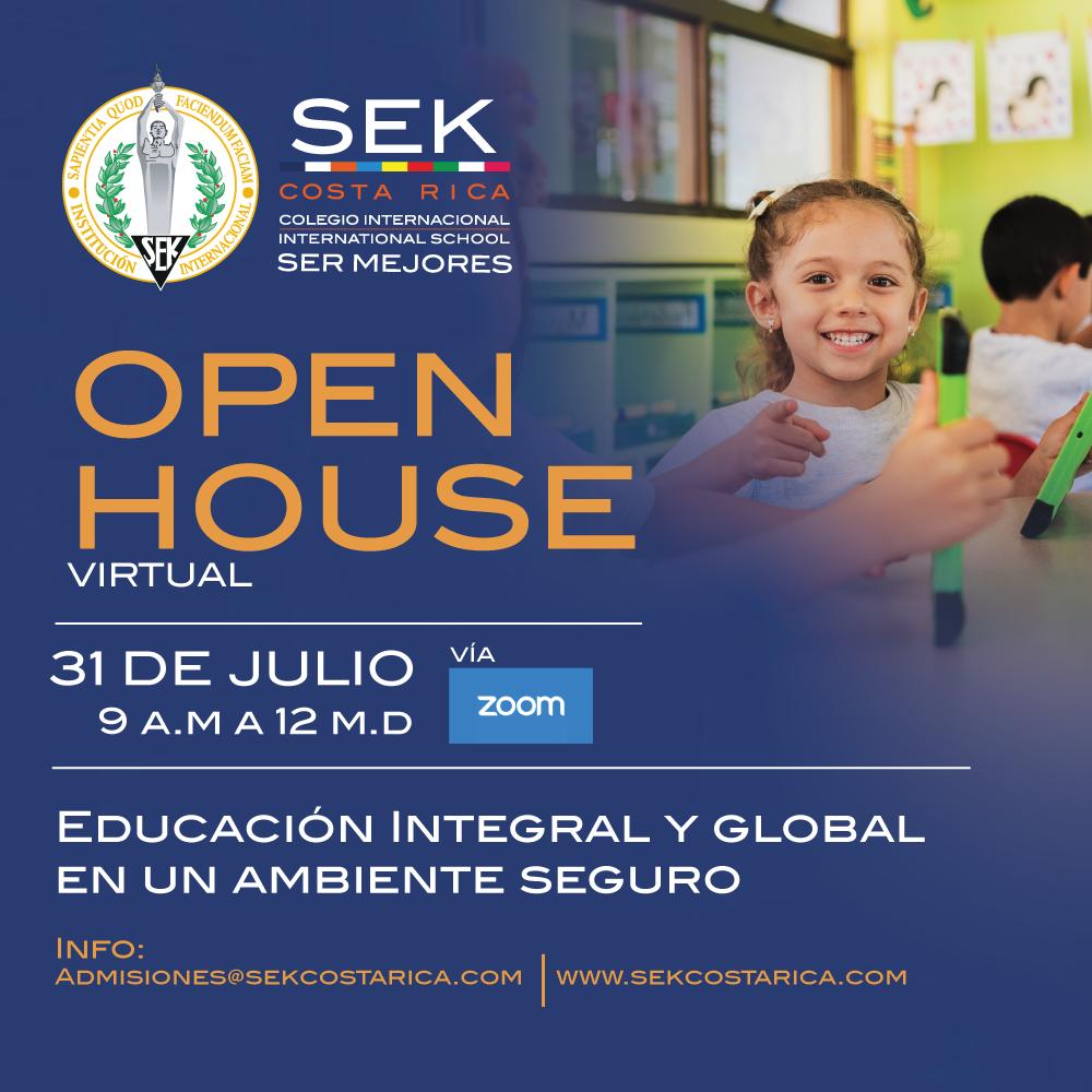 Open House 31 de Julio